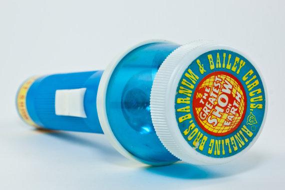 Ringling Bros. spinning flashlight