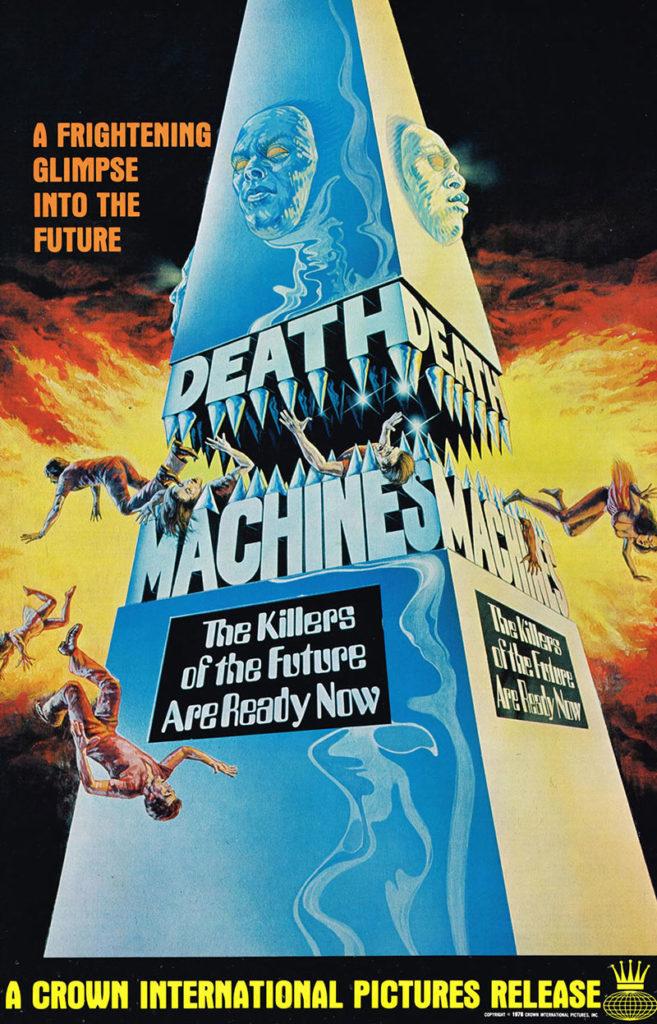 Death Machines poster