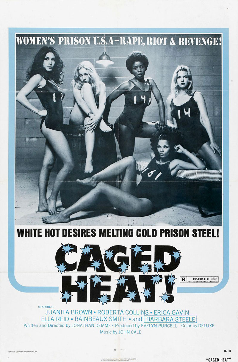Caged Heat movie poster
