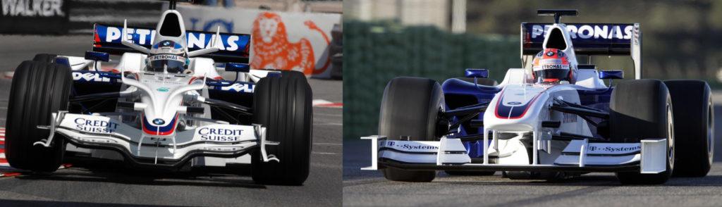 Sauber F1.08 & F1.09