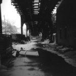 Elevated tracks, Ridgewood, Queens