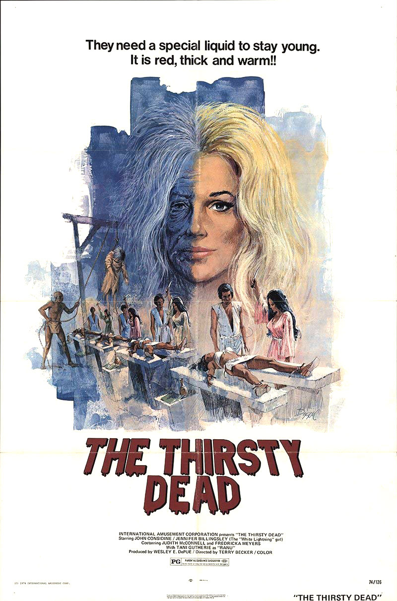 The Thirsty Dead movie poster