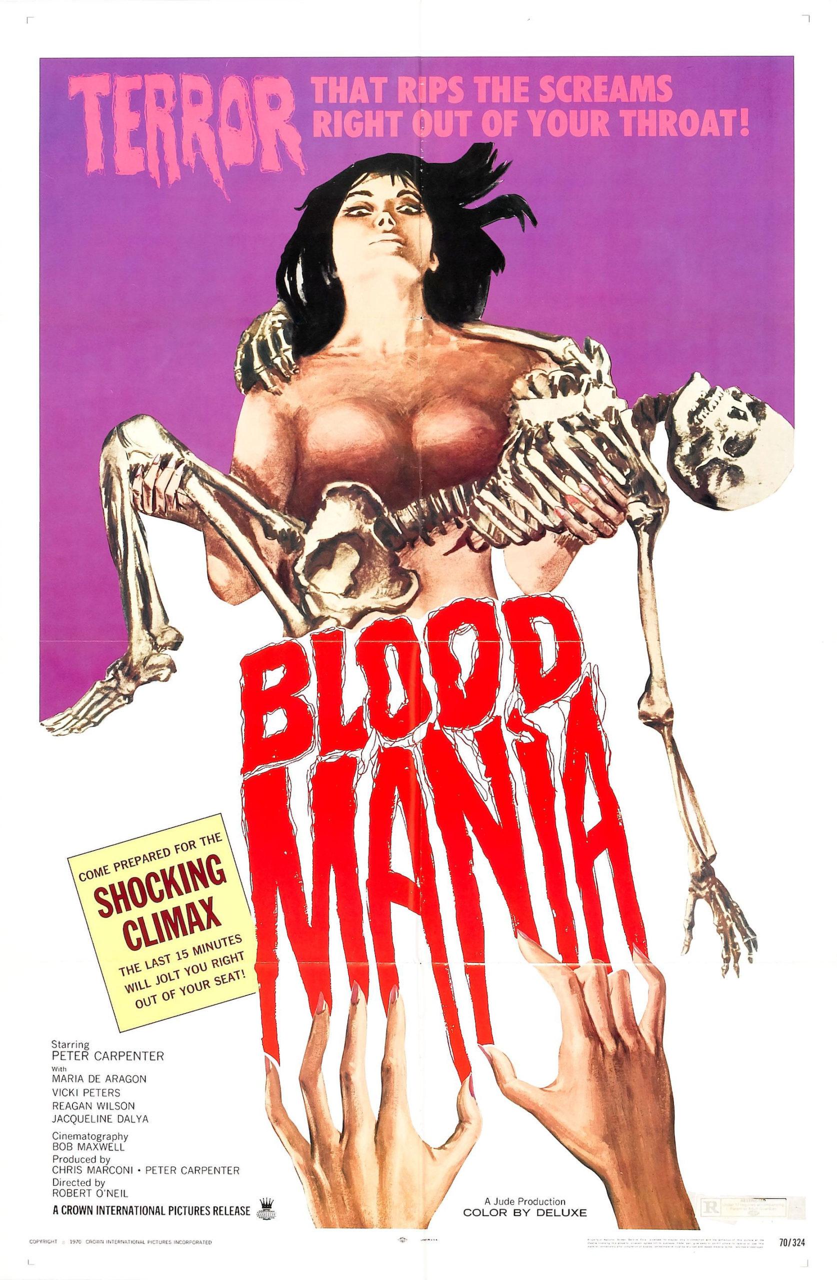 Blood Mania film poster