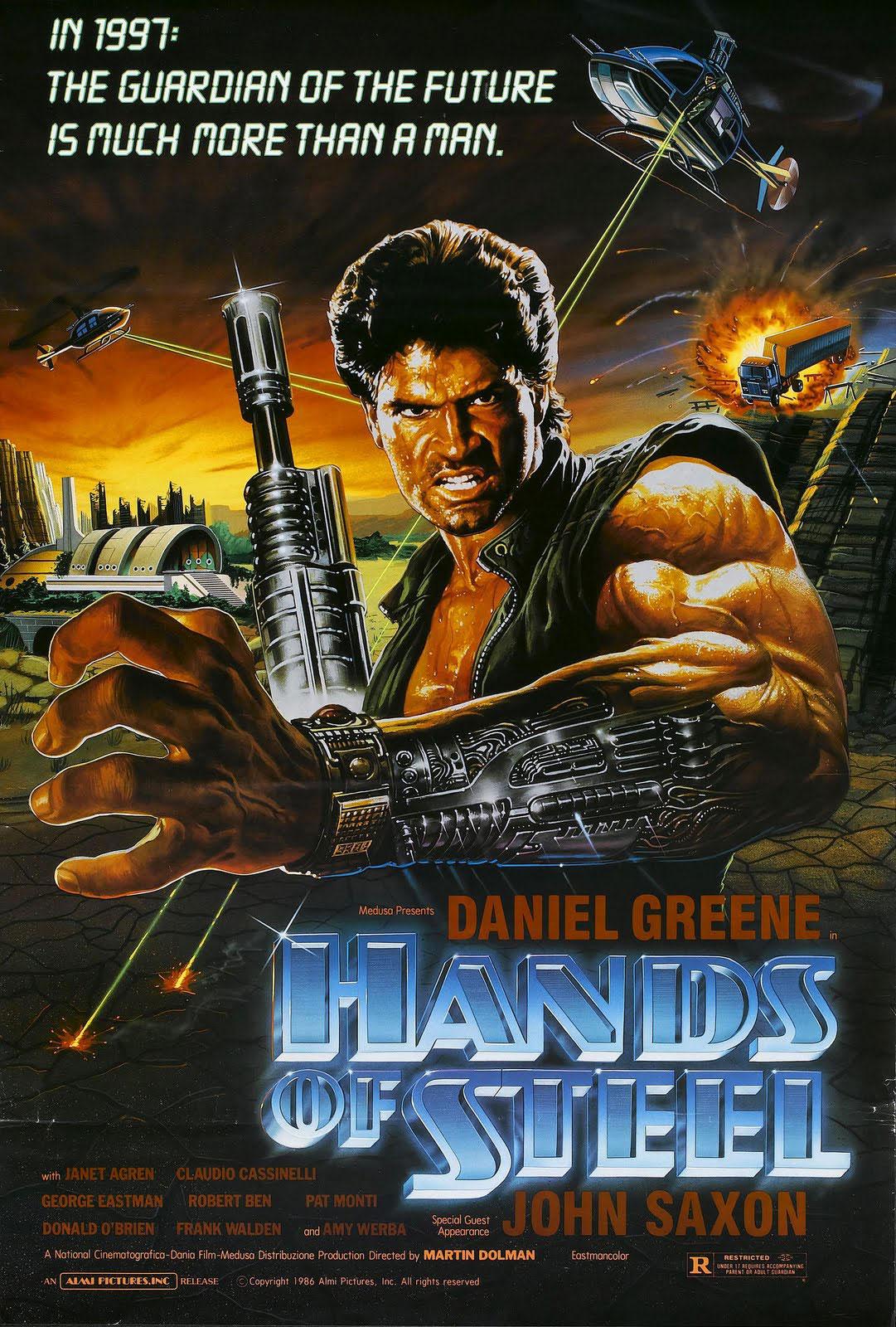 Hands of Steel movie poster