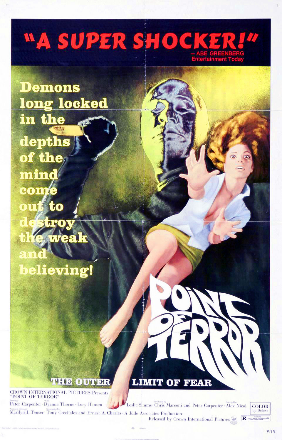 Point of Terror movie poster