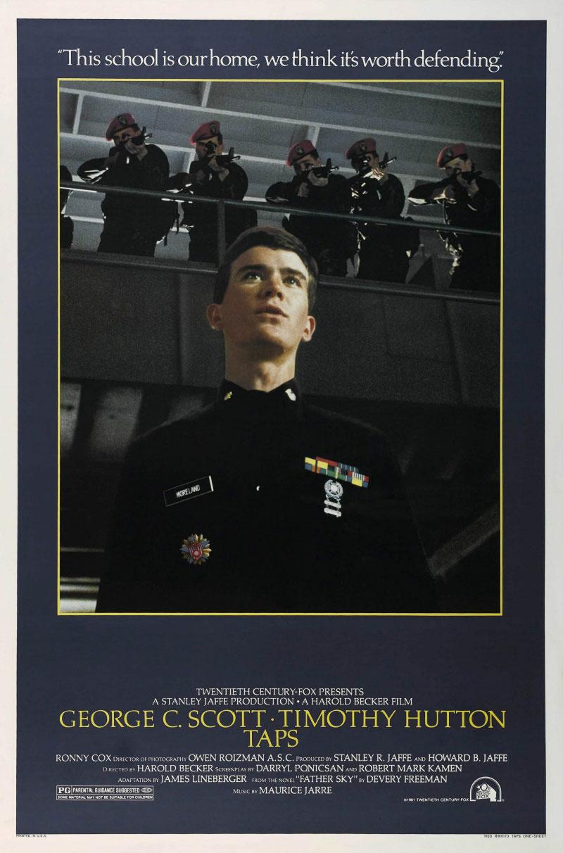 Taps movie poster