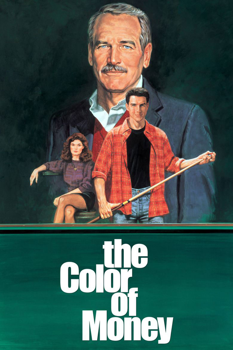 The Color of Money poster art