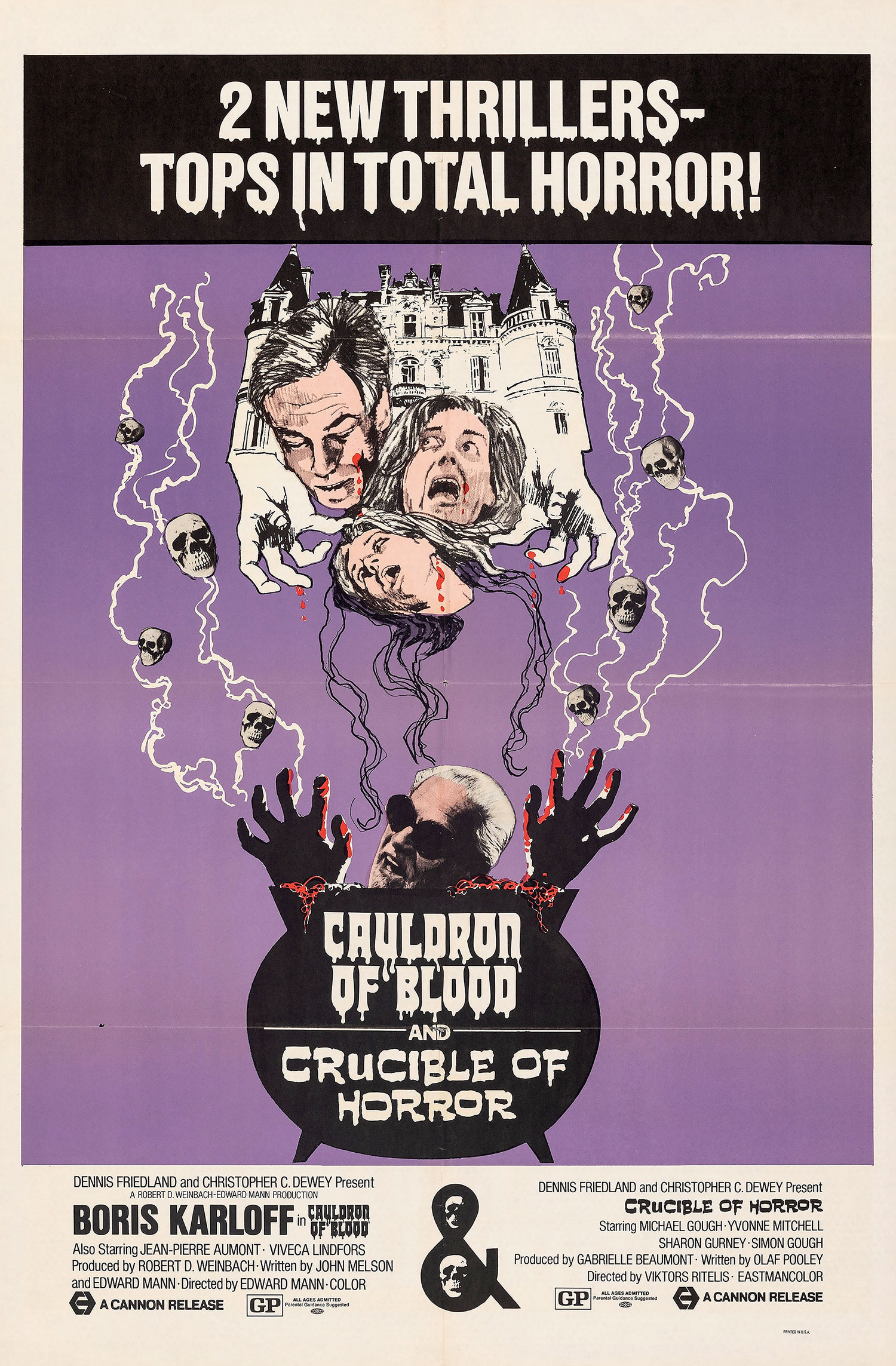 Crucible of Horror movie poster