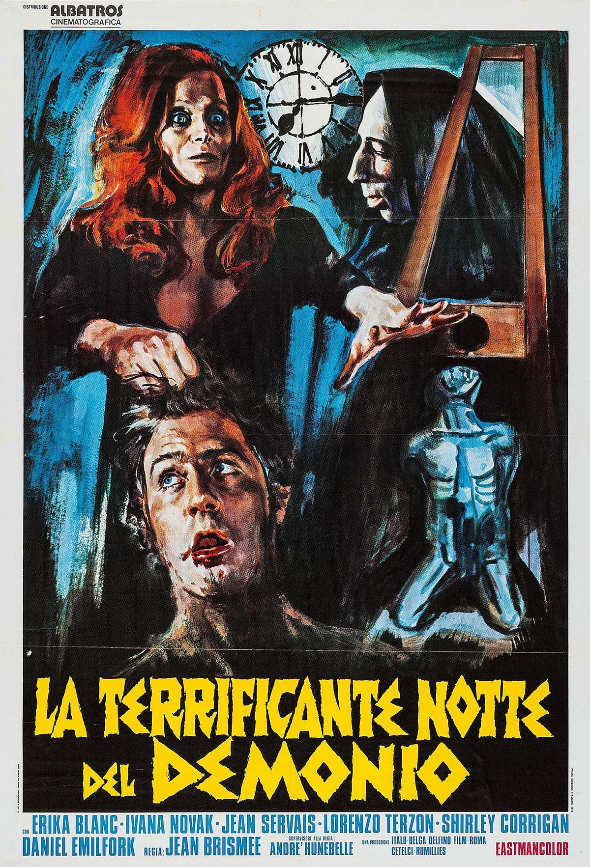 The Devil's Nightmare movie poster in Italian
