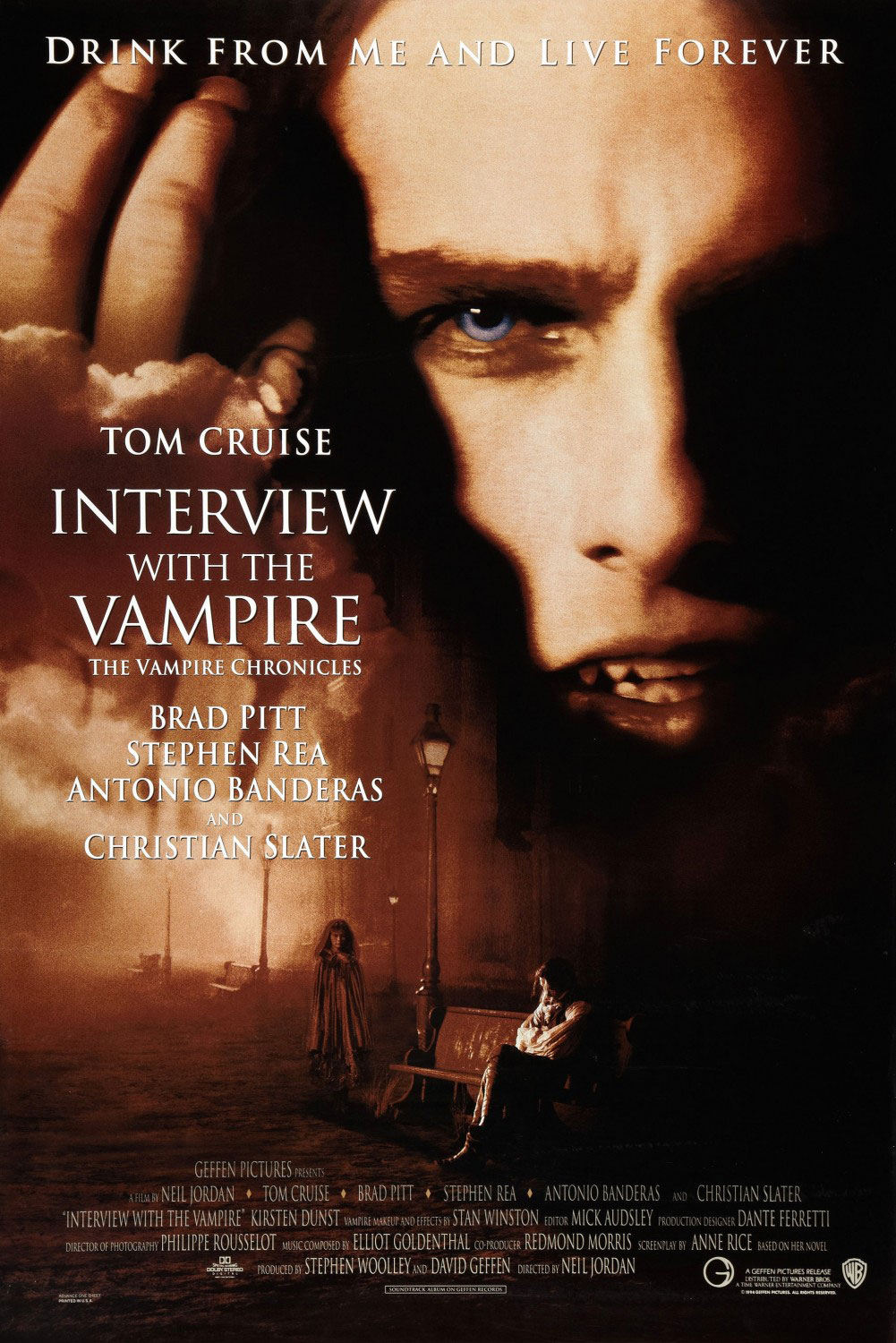 Interview with the Vampire movie poster