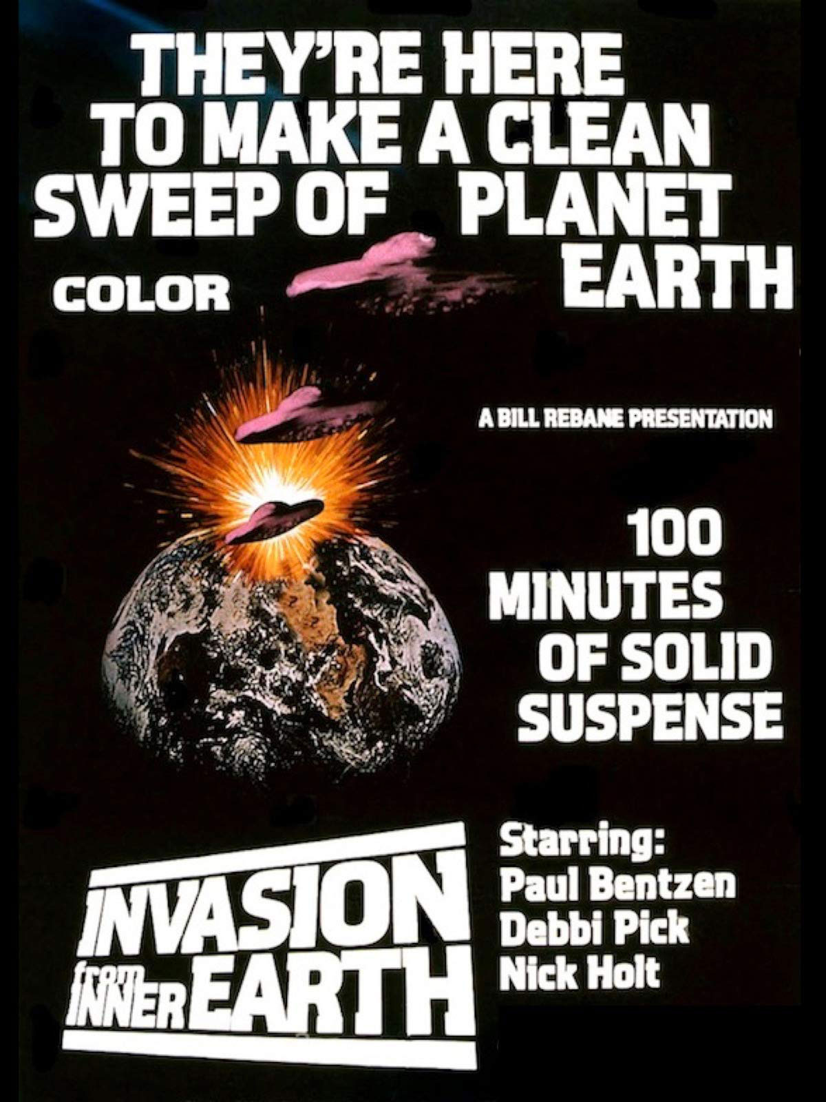 Invasion from Inner Earth movie poster