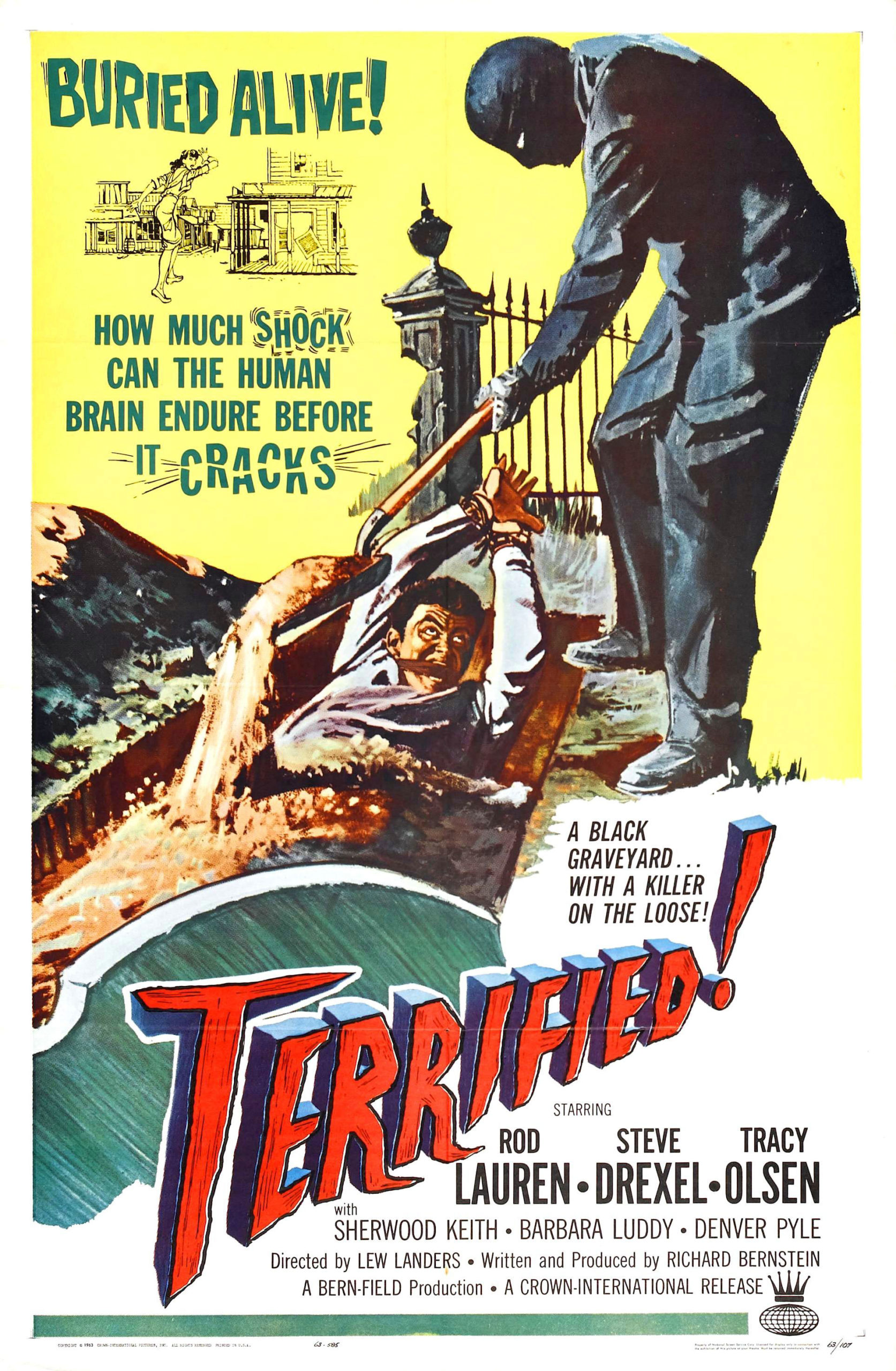 Terrified movie poster