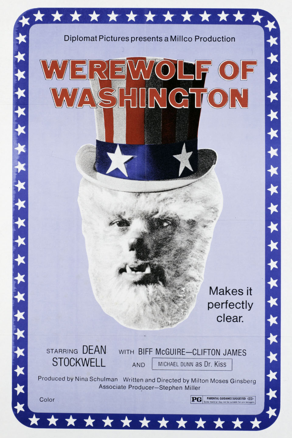 Werewolf of Washington movie poster