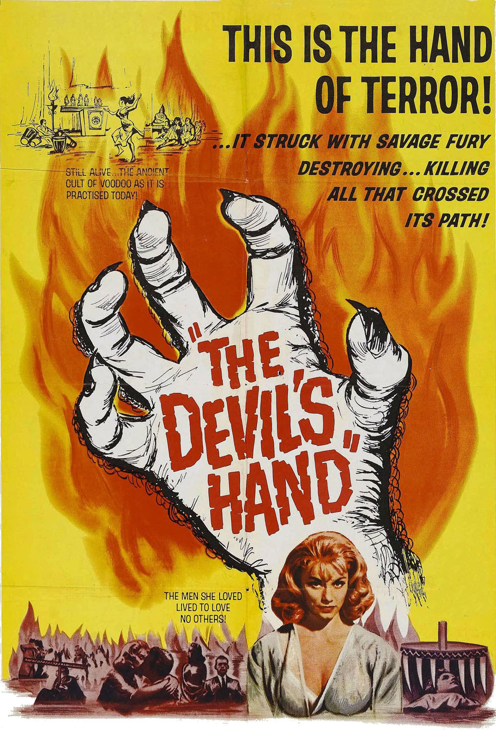 The Devil's Hand movie poster