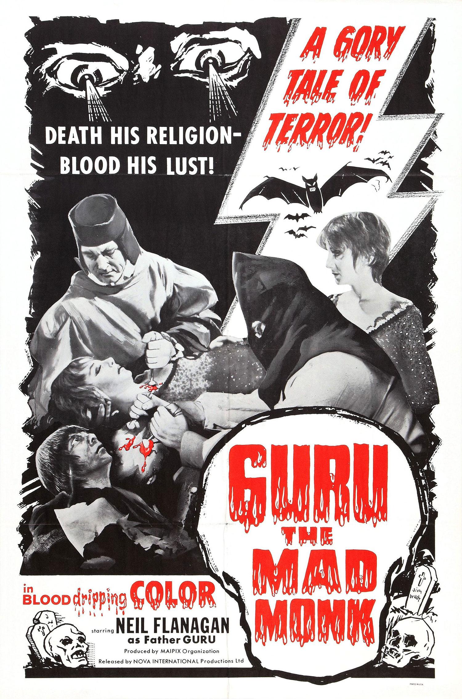 Guru, The Mad Monk movie poster