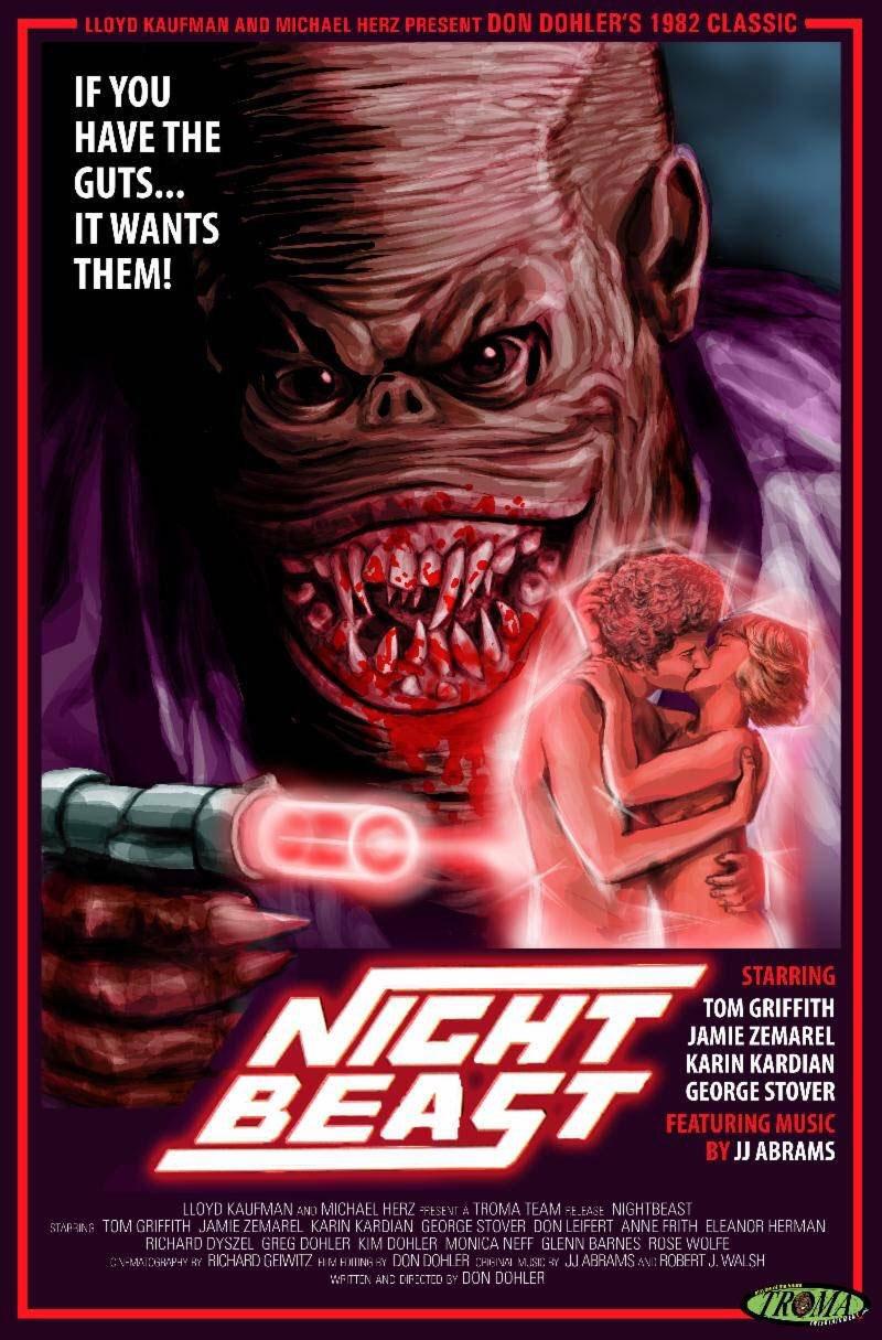 Nightbeast movie poster