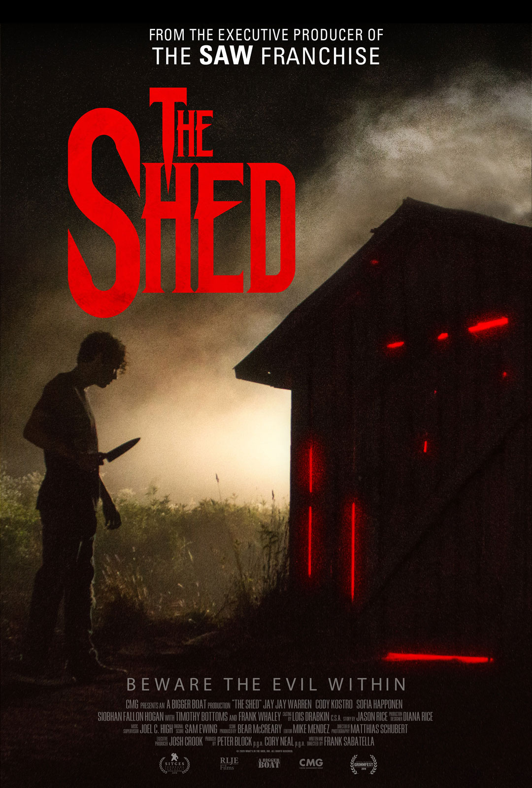 The Shed movie poster