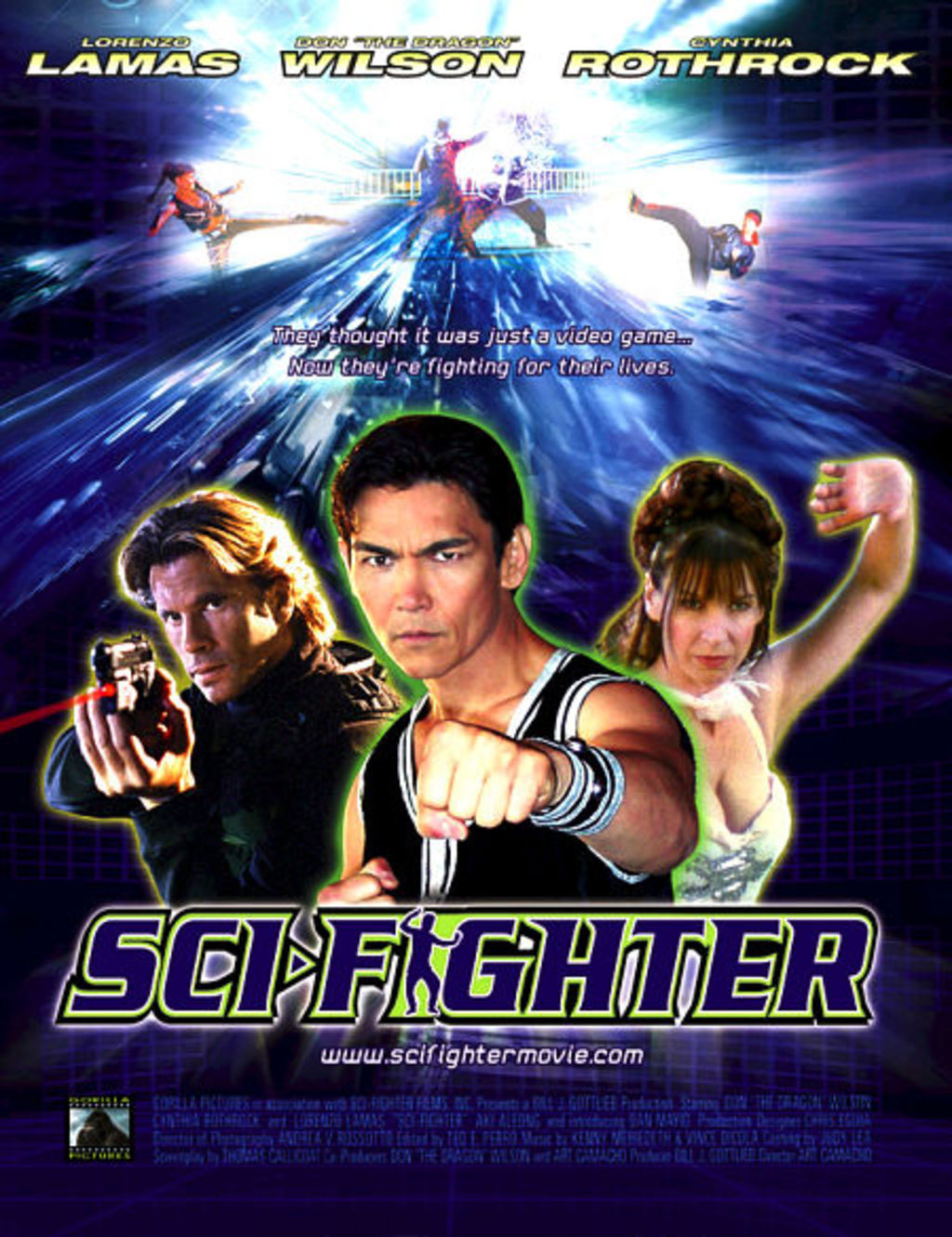 Sci-Fighter movie poster