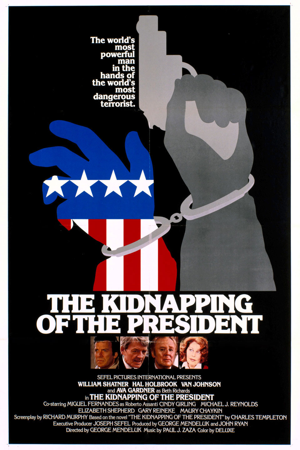 The Kidnapping of the President movie poster
