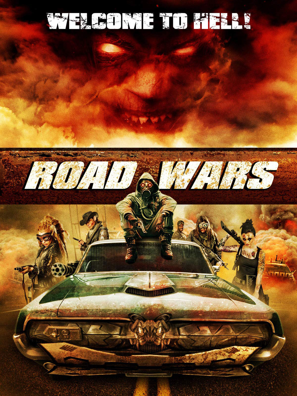 Road Wars movie poster