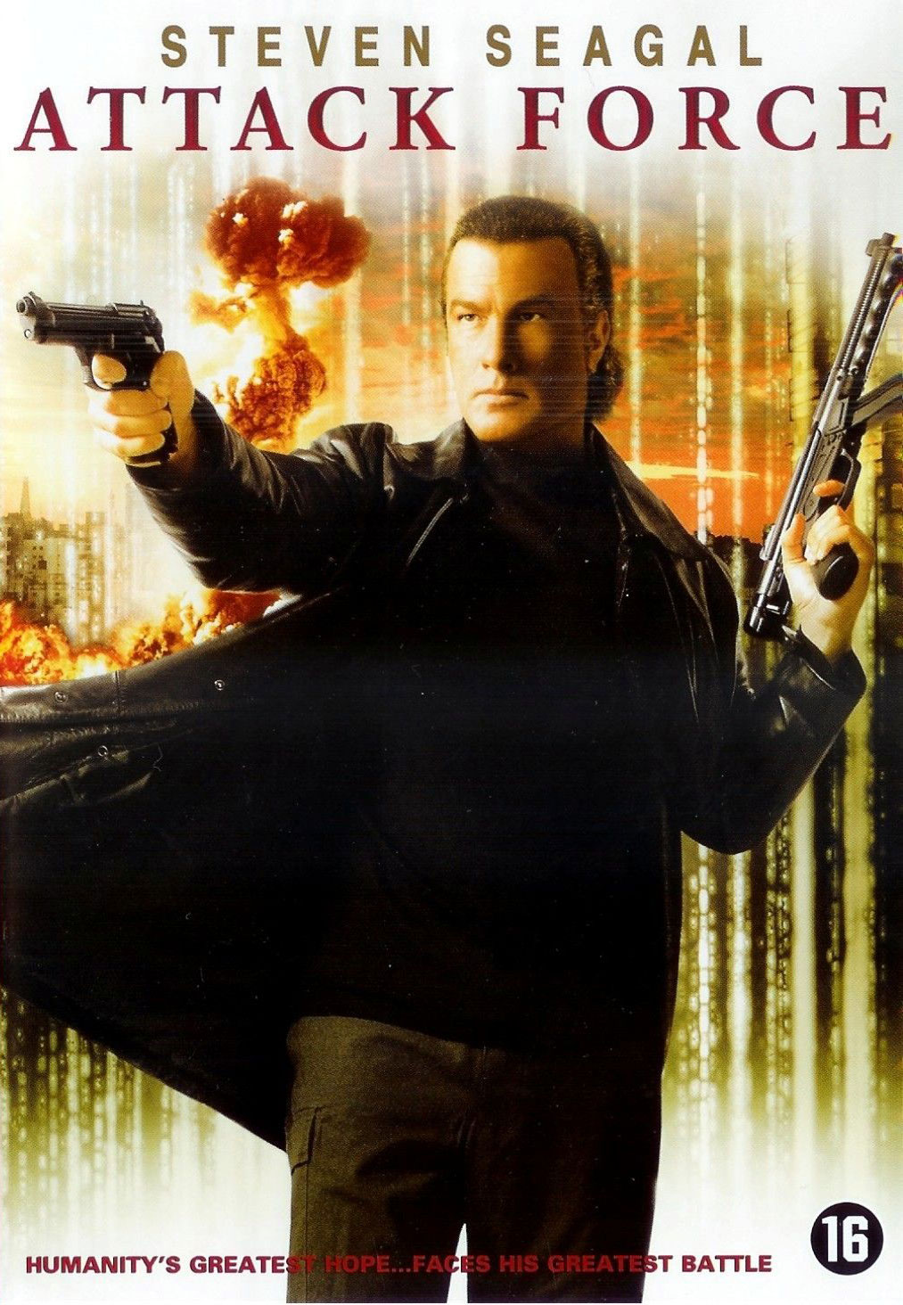 Attack Force DVD cover