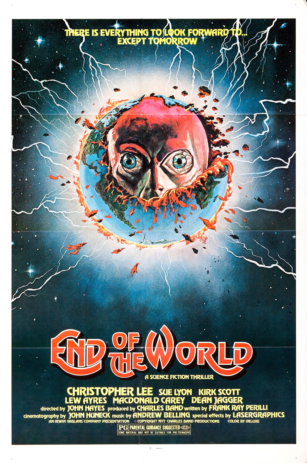 End of the World 1977 movie poster