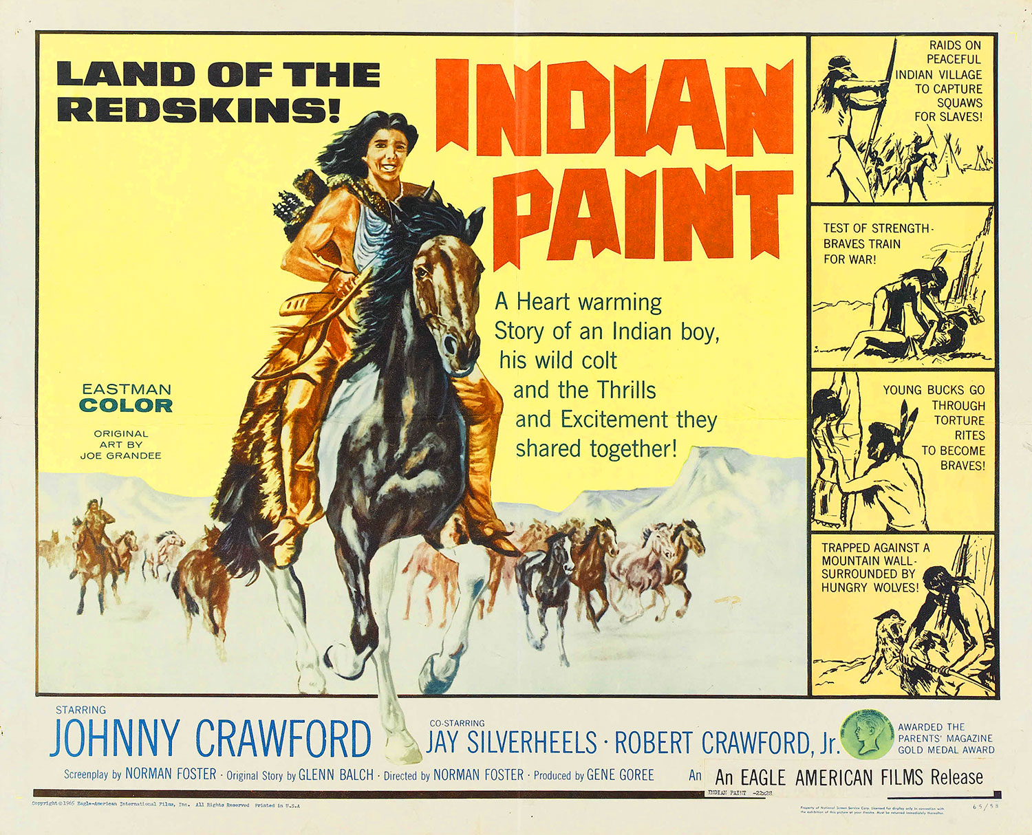 Indian Paint movie poster