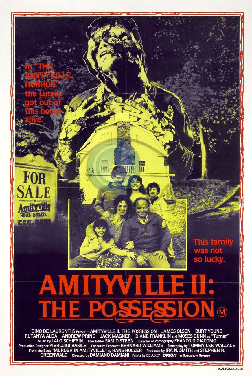 Amityville II: The Possession movie poster