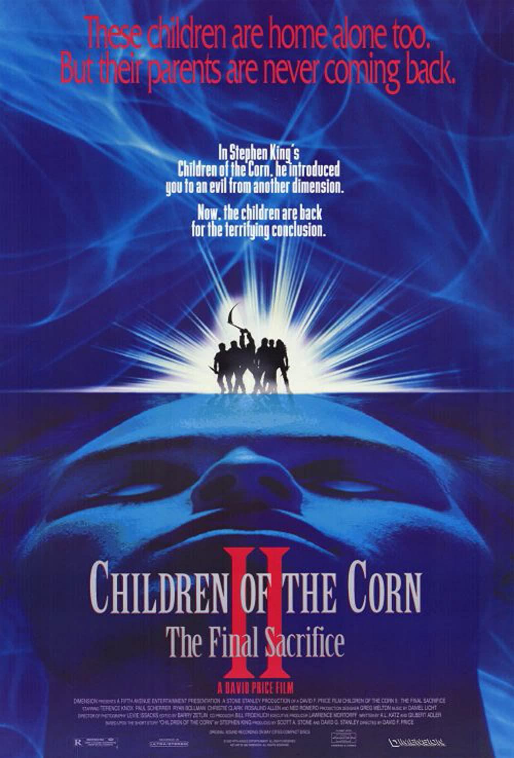 Children of the Corn II: The Final Sacrifice movie poster
