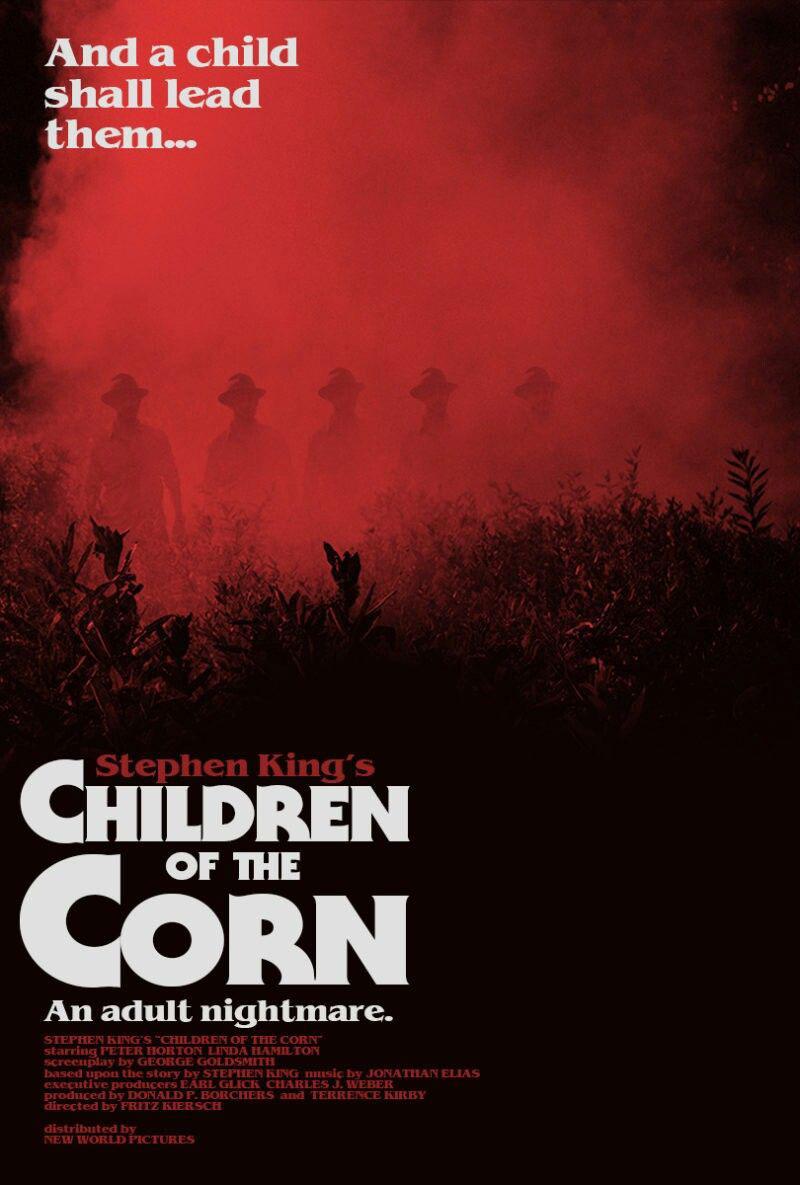 Children of the Corn 1984 movie poster