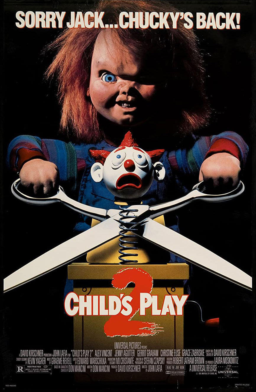 Child's Play 2 movie poster