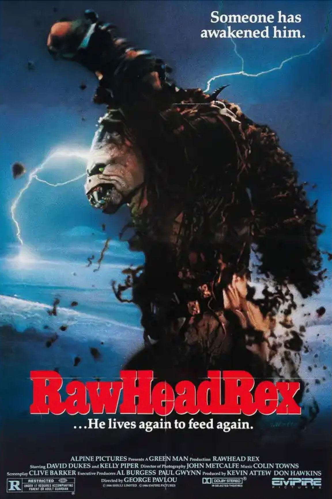 Rawhead Rex movie poster